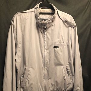 Members Only Vintage Windbreaker Racer Jacket 40